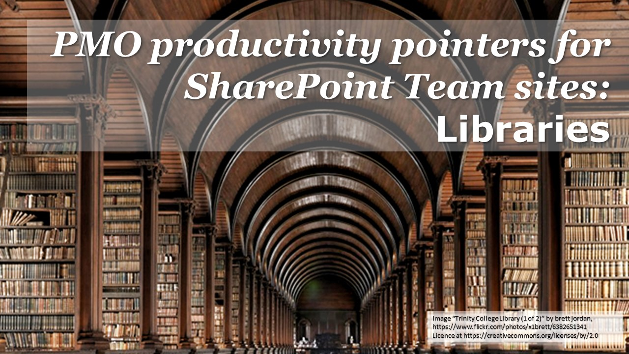 SharePoint tips - Libraries